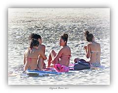 Recuerdo del ltimo verano :( (Alfredo Barros G  ) Tags: summer beach sand playa arena bikini verano vigo juventud samil panasonicdmcfz45