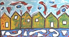 Handles and Holland (divedintopaint) Tags: ferrara astratto quadri espressionismo dived informale neoprimitivismo