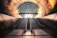 illumination (Dennis_F) Tags: city blue light sunset sunlight reflection colors station stairs zeiss evening abend licht prague metro sony capital escalator wide prag praha tschechien stadt czechrepublic blau fullframe dslr sonne ultra ssm treppen rolltreppe 1635 uwa weitwinkel ultrawideangle uww roange a850 163528 ceskrepublika sonyalpha sonydslr vollformat zeiss1635 sal1635z cz1635 sony1635 dslra850 sonya850 sonyalpha850 alpha850 sonycz1635 hradansk