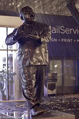 (Drenched) Little Flower (Roblawol) Tags: nyc newyorkcity ny newyork rain statue mayor soho laguardia politician greenwichvillage fiorellolaguardia thebigapple thelittleflower mayorlaguardia laguardiasquare