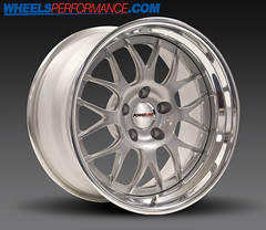 FORGELINE GW3 SILVER CENTERS / POLISHED OUTER LIPS (WheelsPerformance) Tags: silver wheels lips outer forged polished centers gw3 forgeline wheelsperformance