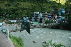 The Bridge to Nepal (Saumil U. Shah) Tags: bridge nepal india mountain mountains nature trekking trek river nikon crossing hiking border hike journey slideshow himalaya spiritual shiva hindu hinduism incredible kailash yatra jain pilgrimage himalayas shah mansarovar manasarovar uttarpradesh jainism kailas   saumil kumaon kmy uttarakhand incredibleindia dharchula   kmyatra saumilshah