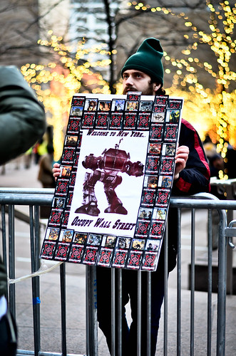 Occupy Wall Street Bokeh...