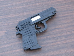 LEGO Walther PPK (1:1) (Cole Edmonson) Tags: gun lego replica weapon pistol ppk lifesize compact jamesbond walther sidearm silencer foitsop