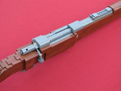 LEGO Karabiner 98 Kurz 02 (Cole Edmonson) Tags: gun lego wwii rifle replica weapon lifesize carbine worldwartwo karabiner mauser kar98