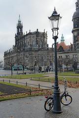 Baroque architecture in the Old City in Dresden, Germany (jackie weisberg) Tags: travel bridge windows sun streetart building art tourism church window water lamp museum architecture buildings reflections river germany graffiti dresden zwinger mural europe catholic cathedral decorative saxony religion bridges churches murals eu bluesky steeple unescoworldheritagesite cobblestones rivers ferriswheel catholicchurch blueskies lamps graffito baroque steeples stallhof oldcity romancatholic ferriswheels alstadt romancatholicchurch sightseers theelbe processionofprinces thefrstenzug dresdencastle dresdenelbevalley jackieweisberg stablescourtyard