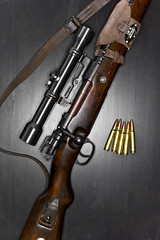 Mauser 98k (DIMITRY FOMIN) Tags: old gun arms wwii rifle german weapon ww2 shooting bullet ammo mauser k98 oldgun 98k k98k kar98k karabiner98kurz mauser98k zf39