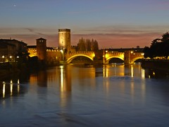 A night walk in Verona: View of Adige River and Castelvecchio Bridge from Ponte della Vittoria - Explored on 26/12/2011, best # 305 (presbi) Tags: bridge italy italia bridges ponte verona nighshot castelvecchio ponti saariysqualitypictures doubleniceshot tripleniceshot mygearandme mygearandmepremium mygearandmebronze mygearandmesilver mygearandmegold mygearandmeplatinum mygearandmediamond vigilantphotographersunite vpu2 vpu3 vpu4 vpu5 vpu6 vpu7 vpu8 vpu9 vpu10