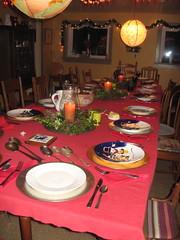 Xmas dinner feast