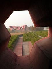 HdM - Jinhua Pavilion (8) (evan.chakroff) Tags: 2005 china pavilion hdm herzogdemeuron jinhua readingspace evanchakroff architecturepark chakroff