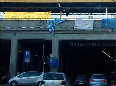 """senza i """"treni-notte"""" l'Italia è più divisa (mariarita.g) Tags: milano dicembre proteste trenitalia ferrovia 2011 petizione messaggi licenziamenti treninotte"""