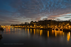 Clouds Over The Amstel (N+C Photo) Tags: travel bridge sunset vacation orange holiday holland building tourism netherlands amsterdam les architecture clouds river photography design casey canal nikon nadia europe iamsterdam earth expression culture photographers eu structure adventure explore viajes artists coolpix ajax traveling fotografia bas turismo mokum pays vacaciones mundo travelers amstel niederlande discover aventura tierra benelux descubrimiento pasesbajos traveladventure urbansuburban p7100 mygearandme mygearandmepremium mygearandmebronze mygearandmesilver mygearandmegold mygearandmeplatinum mygearandmediamond flickrstruereflection1 leshollandes