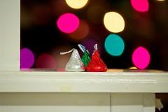 361/365 - Bokeh (Zachary Koontz Photography) Tags: christmas food holiday canon happy kiss holidays dof counter bokeh chocolate kisses hersheys hershey 365 merry 2011