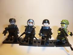 New figs (KOBE) Tags: lego cia bad figurs brickarms