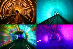 Pudong tunnel (Manυ) Tags: china skyscraper shanghai pudong