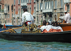 Wedding Processional in Venice