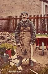 Petticoat Dan, Kirkintilloch. (Paris-Roubaix) Tags: dan vintage scotland antique scottish cooper postcards petticoat lenzie kirkintilloch
