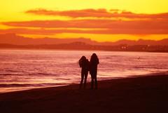 Capvespre a Calafell (gemicr69) Tags: barcelona sea espaa sun sol beach mar spain sony calafell playa catalonia catalunya alpha