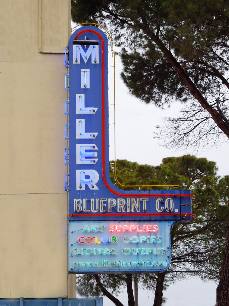 The worlds best photos of miller and neon flickr hive mind miller day signs along the way tags austin neon miller blueprint neonsign 6thstreet malvernweather Images