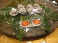 ichigo daifuku mochi (moirabot) Tags: japan tokyo strawberry mochi isetan
