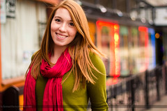 Rachel (Athens) (Kyle Williams | kylematthewphoto.com) Tags: red fall college scarf canon town rachel december athens uga redhair flicker 60d kylematthewphotocom