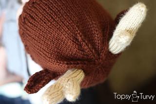 Ravelry Reindeer Antler Baby Beanie Pattern By Ashlee