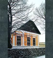 (Balázs Papdi) Tags: winter house snow detail tree window yellow architecture szeged fa ház hó ablak sárga tél műemlék dísz építészet traditioanal alsóváros részlet népi tradicionális arhitektúra szegedalsóváros napsugarasház