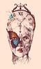 Surealismo Efecto Mariposa (iAngelFoster) Tags: art butterfly arte time surreal reloj mariposa tiempo juventud efectomariposa surealismo artesureal