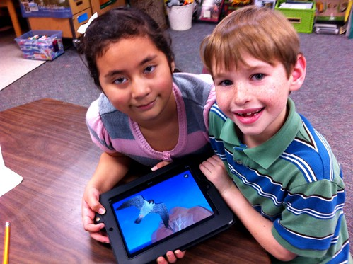 2nd Graders using Build A Bird app on th by Barrett Web Coordinator, on Flickr