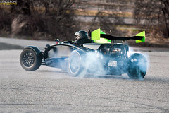 Ariel Atom goes wild! *Explored* (Keno Zache) Tags: wild ariel car speed canon photography eos hp power photoshoot goes burnout atom drift sportcar keno 400d zache
