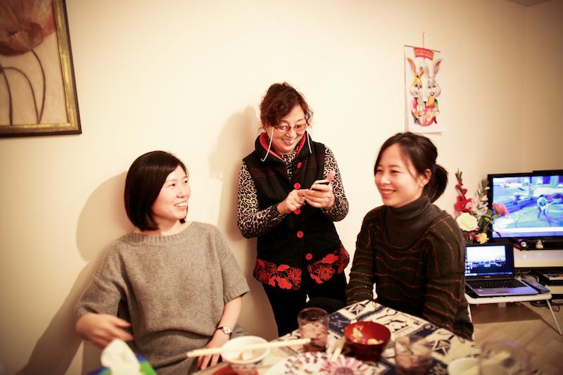 Chen Jie home dinner 030