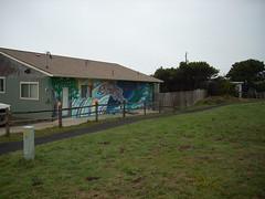 Mural (A.C. Hobbs) Tags: architecture oregon oregoncoast yachats lincolncounty oregoncoasttrail