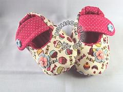.:. Sapatinho de Beb .:. (Bonecos de Pano .Com) Tags: cupcake babyshoes sapatinhodebeb sapatinhodetecido sapatinhoinfantil