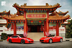 Happy Chinese (Lunar) New Year 2012! (anType) Tags: california red italy sports car germany italian asia dragon 911 convertible chinesenewyear ferrari exotic german porsche cny malaysia kualalumpur luxury coupe supercar v8 lunarnewyear carreras sportscar 2012 cabriolet 997 gongxifacai h6 flat6 theanhoutemple rossocorsa worldcars