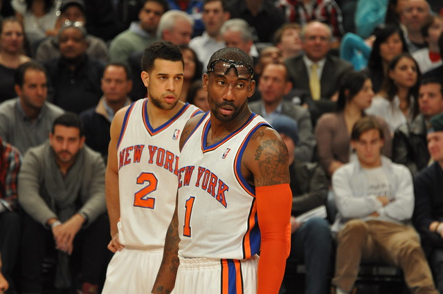 AMARE STOUDEMIRE AMARE STOUDEMIRE with Landry Fields