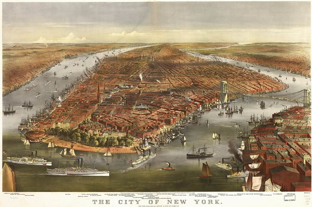 New York 1870 - Currier & Ives