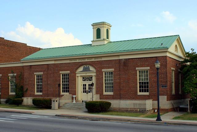 Livingston, TN Post Office