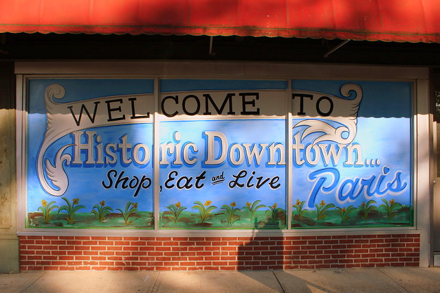 Welcome to Historic Downtown Paris, TN