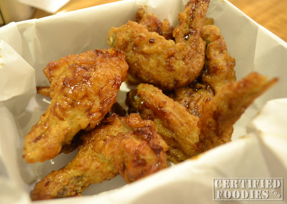 Our 6-piece plus 2 4 Fingers Crispy Chicken