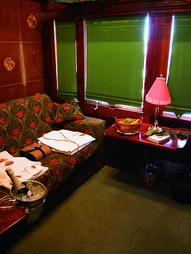 Al Andalus - Luxury Train suite by day