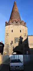 Zibice, Silesia, Poland (LeszekZadlo) Tags: city tower history architecture gate eu poland polska polen historical fortifications polonia ue pologne silesia