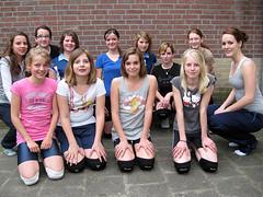 2008 Meisjes C3 - Tr. Josien Deuten en Jorinda Kremer