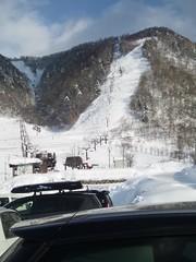 平湯温泉スキー場。の写真