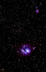 Lagoon and Triffid Cropped (ChristheFuzzy) Tags: star space lagoon gas telescope nebula dust meade triffid Astrometrydotnet:status=solved Astrometrydotnet:version=14400 Astrometrydotnet:id=alpha20120165937491