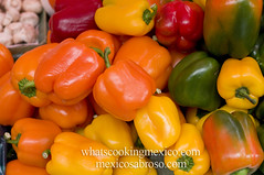 "Bell peppers<br /><span style=""font-size:0.8em;"">Read more about it here:<br /><a href=""http://whatscookingmexico.com/2012/01/30/market-monday-sullivan-tianguis-a-photoset/"" rel=""nofollow"">whatscookingmexico.com/2012/01/30/market-monday-sullivan-...</a></span> • <a style=""font-size:0.8em;"" href=""https://www.flickr.com/photos/7515640@N06/6789292069/"" target=""_blank"">View on Flickr</a>"