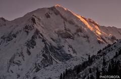 CHONGRA (PHOTOROTA) Tags: winter pakistan light sunset mountain nature landscape nikon flickr peak abid parbat greatphotographers flickraward concordians goldstaraward nikonflickraward photorota