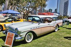 The Caballero (Fairlane221) Tags: show california ca classic car station vintage wagon buick sandiego luggage rack 1957 caballero