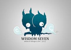 W7 | New Logo (..W7..) Tags: new logo media mohammed seven owl designs wisdom gcc doha qatar    alsuwaidi w7