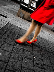 red shoes (Tekapa walking around the city .....) Tags: street city streets photography photo photographer walk candid streetshots streetphotography photowalk streetshot flaneur streetphotographer streetshooting streetshooter cityphotography
