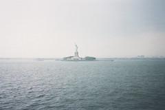 Liberty Island (Dell's Pics) Tags: nyc ny newyork statueofliberty libertyisland disposablecamerasooc